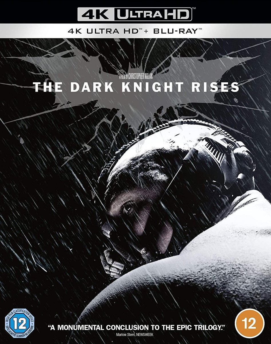 The Dark Knight Rises [4K Ultra HD + Blu-ray]-