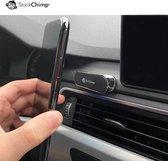 StockChimp - Magnetische telefoonhouder auto - 360 graden draaibaar - Magneet autohouder - Zilver