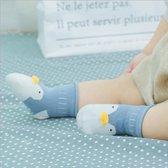 babysokken 'pinguïn' antislip 0-12 maanden - baby - slofjes