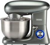 Bourgini Kitchen Chef Plus 5.5L Grijs - keukenmixer - keukenmachine