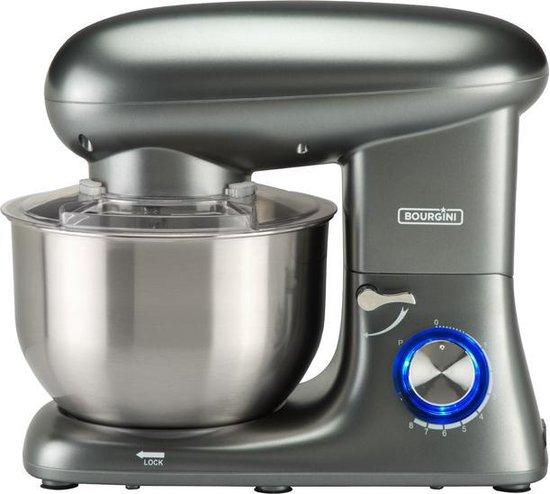 Bourgini Kitchen Chef Plus Keukenmachine Grijs