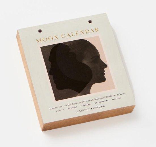 Moon Calendar 2021 - Scheurkalender - Lexmond vs Lexmond - Nederlands