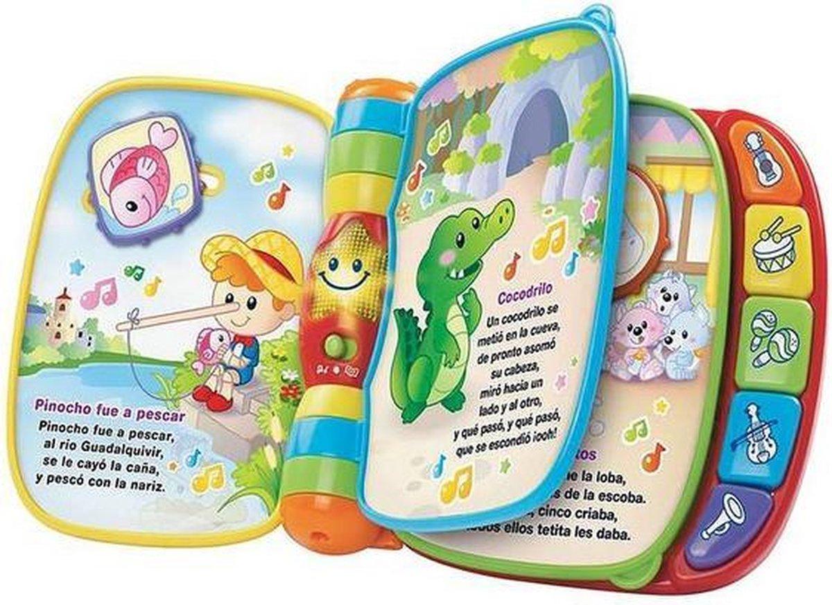 Mijn eerste muzikale boek Baby Vtech (Spanish)