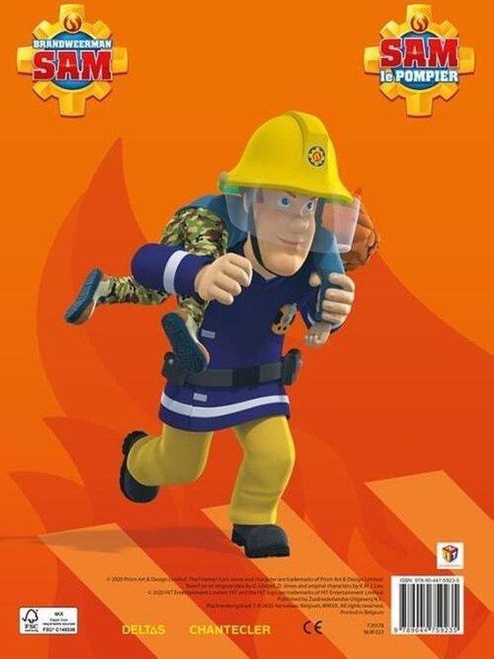Afbeelding van Deltas Kleurblok Brandweerman Sam Junior Oranje speelgoed