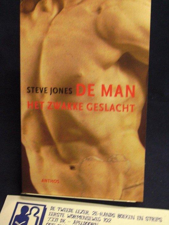 Cover van het boek 'De man' van Steve Jones