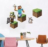 Muursticker Minecraft xbox one edition Slaapkamer decoratie