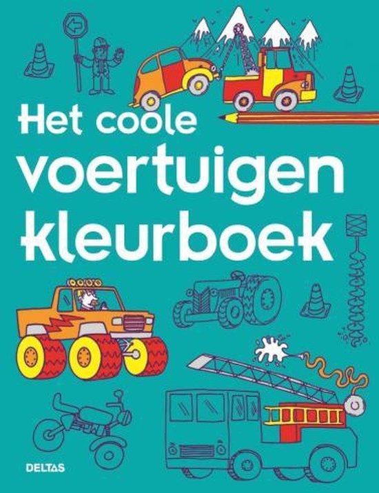 Afbeelding van Deltas Kleurboek Coole Voertuigen speelgoed