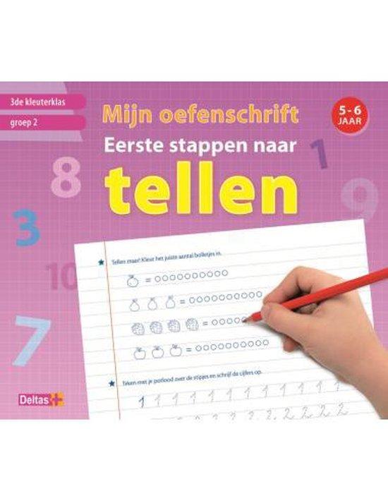 Mijn oefenschrift eerste stappen naar tellen (5-6 j.) - Deltas