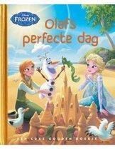 Boek cover Gouden Boekjes  -   Frozen - Olafs perfecte dag van Jessica Julius (Hardcover)