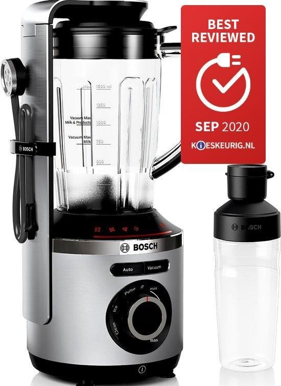 Bosch VitaMaxx MMBV621M - Vacuümblender - RVS