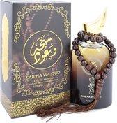 Sabha Wa Oud by Rihanah 100 ml - Eau De Parfum Spray (Unisex)
