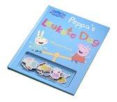 Boek cover Peppa Pig  -   Leukste dag magneetboek van Nevil Astley