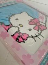 Hello Kitty - Muurstickers - Roze/blauw - Max. 23,8x22,3 cm
