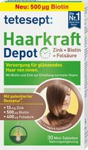 tetesept Haarsterkte zink + biotine + foliumzuur tabletten (30 stuks)