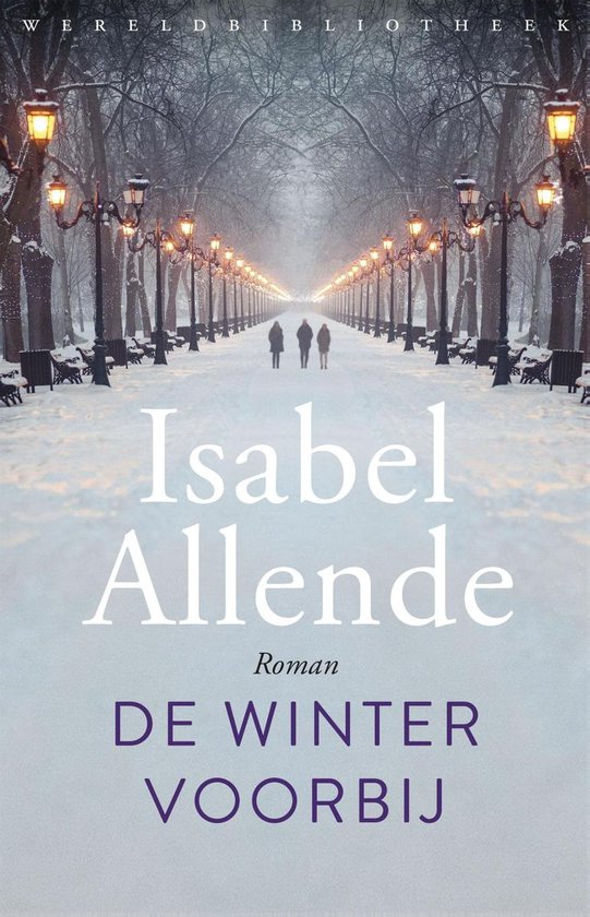 Boek cover De winter voorbij van Isabel Allende (Binding Unknown)