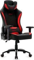 Game Hero Gamestoel Warrior X1 - Bureaustoel  - Verstelbare Rugleuning - Ondersteunend Hoofdkussen - Rood
