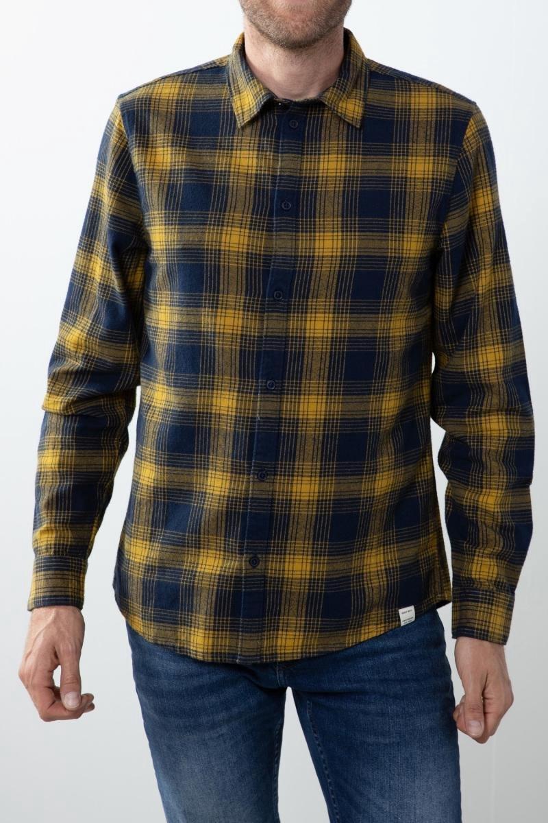 Sissy-Boy - Donkerblauw overhemd ruit