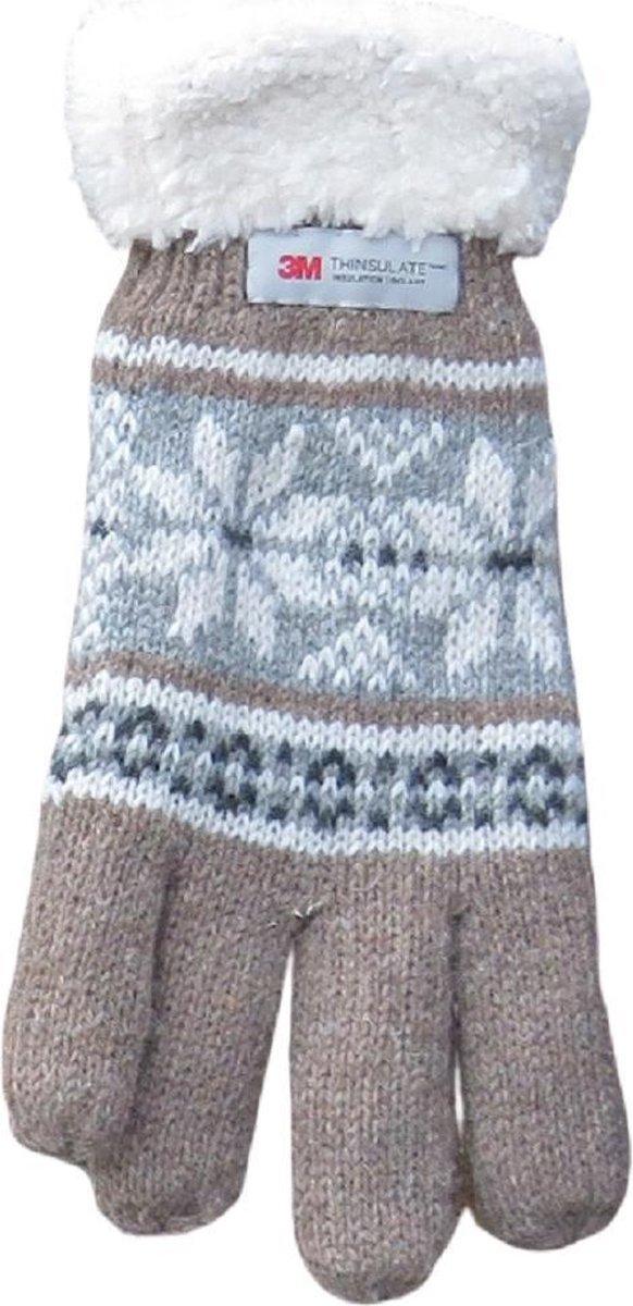 Handschoenen dames 3M Thinsulate met manchet