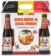 Snuffle Giftbox Hondenbier en Hondenfrieten
