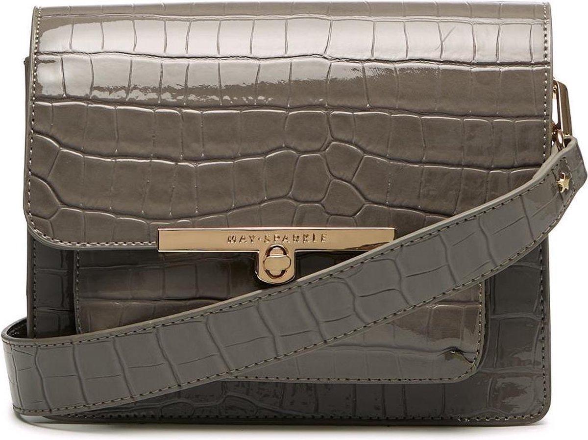 May Sparkle Festive Grey Croco Crossbody MS22012