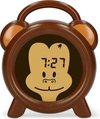 Alecto Baby BC-100 Monkey Slaaptrainer - Nachtlampje - Wekker