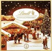 Lindt - Kerstmarkt Mini Tafel Adventskalender - 115g