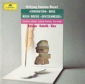 "Mozart: ""Coronation"" Mass; Missa Brevis ""Spatzenmesse"""