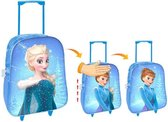 Frozen trolley Anna en Elsa 36 cm / 2 in1