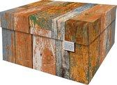 Dutch Design Brand - Dutch Design Storage Box - Opbergdoos - Opbergbox - Bewaardoos - Sloophout - Scrapwood
