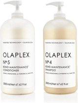 Olaplex Duo Pack No. 4 + No. 5 Shampoo en Conditioner - 2 x 2000 ml