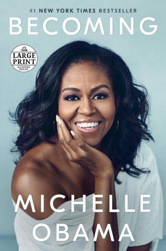 Boek cover Becoming van Michelle Obama (Paperback)