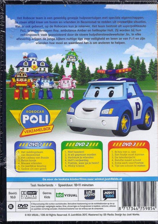 Robocar Poli Box - Deel 1 t/m 3