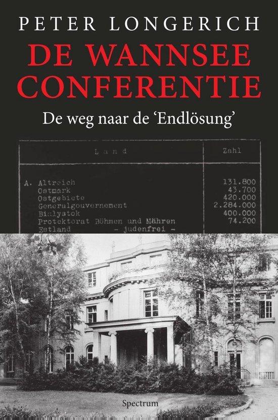 Boek cover De Wannseeconferentie van Peter Longerich (Onbekend)