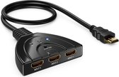MMOBIEL HDMI Switch - 3 In naar 1 Uit - 1080p - Full HD - Pigtail - Indicatie LED