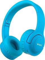 WISEQ Hero – Draadloze Kinderkoptelefoon - Bluetooth Koptelefoon voor Kinderen - 20 uur batterij - Blauw