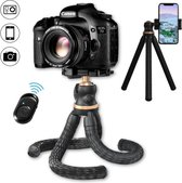 LURK® 3 in 1 flexibele tripod camera statief XL PRO - Gold excellence camerastatief voor smartphone en (actie)camera's
