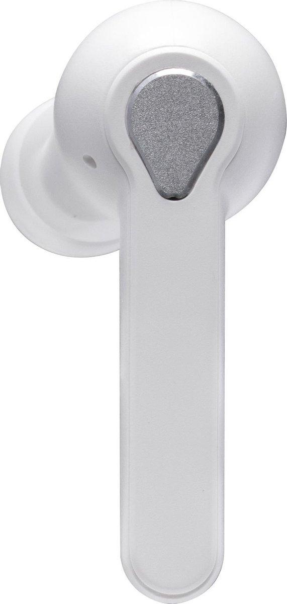 FlinQ Alume Draadloze Oordopjes - Bluetooth Oordopjes - Draadloze Oortjes met microfoon - Wit kopen