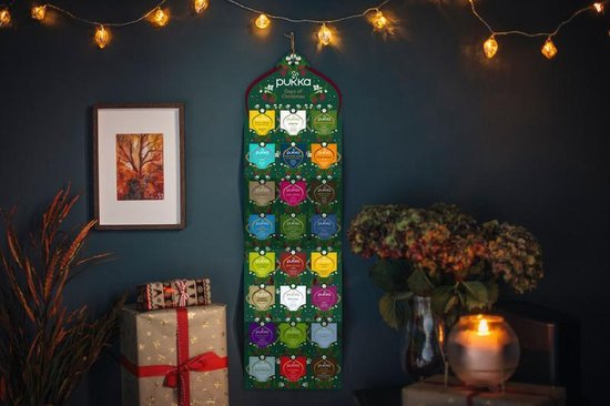 PUKKA Adventkalender 2020 - 24 zakjes