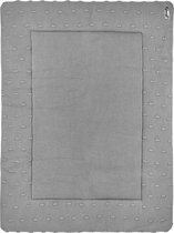 Meyco Knots boxkleed - 77x97 cm - Grijs