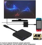 TRANSNECT Nintendo Switch HDMI-adapter – Switch Hub – 1080p