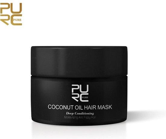 PURE Coconut Oil Hair Mask | Haarverzorging | Kokos Olie Masker | Beschadigd Haar | Herstelt Haar | Hydraterende Kokos Olie Masker | Hair Repair | 50ML