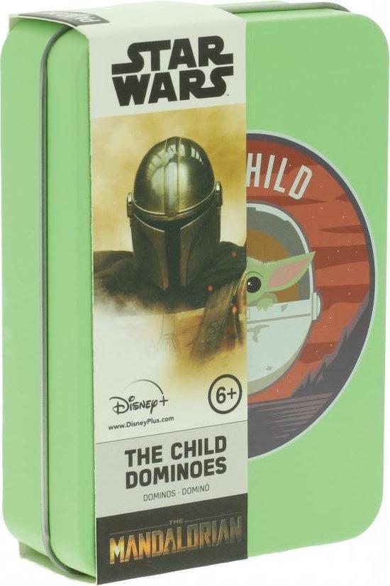 Afbeelding van het spel Star Wars - The Mandalorian The Child Domino Set