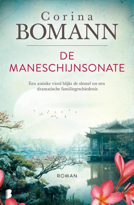 Boek cover De maneschijnsonate van Corina Bomann (Onbekend)