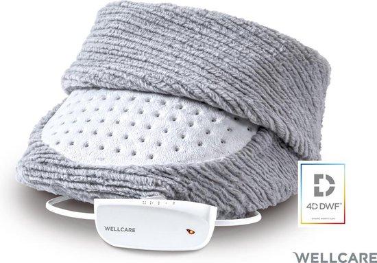 Wellcare WE167FWH Elektrische voetwarmer met 4D DWF-technologie grijs