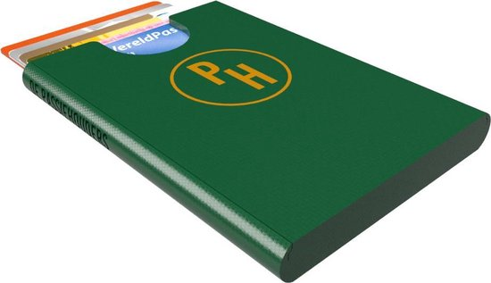 De Passiehouders - Pasjeshouder - Groen- 6 pasjes - Creditcardhouder