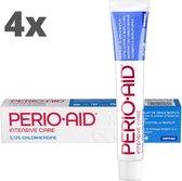4x Perio-Aid Intensive Care Gel Tandpasta - Voordeelverpakking