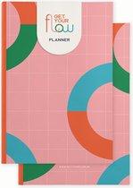 Get Your Flow Planner - Weekplanner - Ongedateerde planner – roos