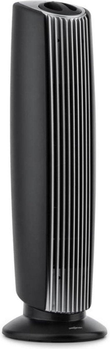 St. Oberholz XL 3-in-1 luchtreiniger ionisator ozon 18 – zwart/zilver