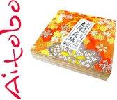 Japans origami papier pakket ( Chiyo 100 vel 7,5,x,7,5 cm)