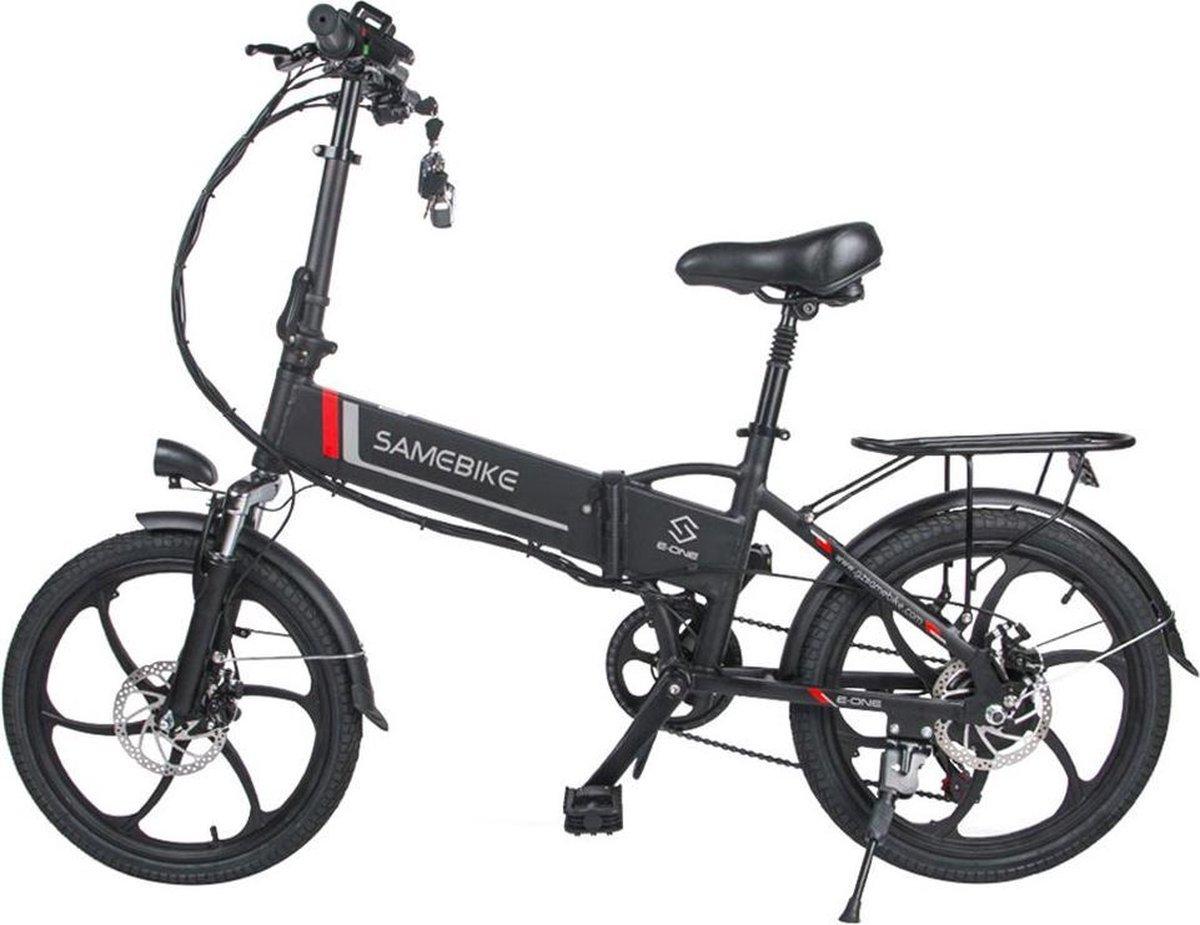 Samebike Elektrische vouwfiets - beste kwaliteit - Shimano 7 speed derailleur - 48V/8Ah lithium batt